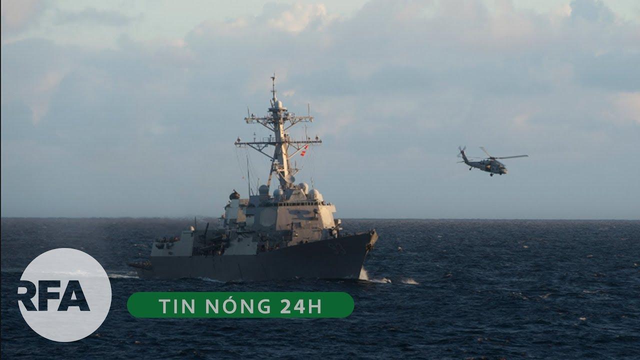 Tin nóng 24H   Thách thức Trung Quốc, 2 tàu chiến Mỹ vào vùng 12 hải lý ở Trường Sa