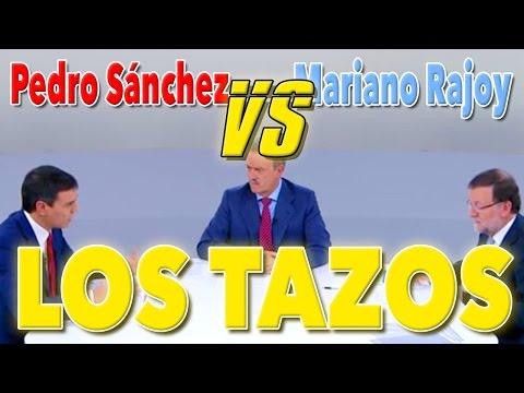 LOS TAZOS - Debate entre Rajoy y Pedro Sánchez by Trazzto