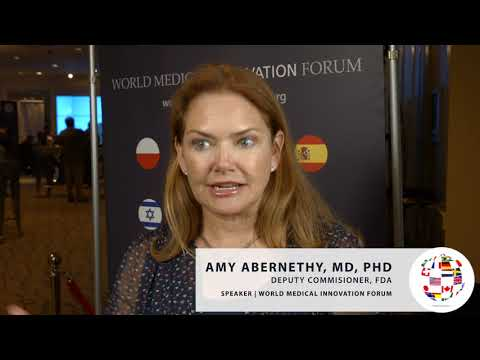 Amy Abernethy on ways AI can improve clinical trials #WMIF19 ...