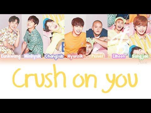 BTOB (비투비) - CRUSH ON YOU Lyrics (Color Coded/ENG/ROM/JPN)