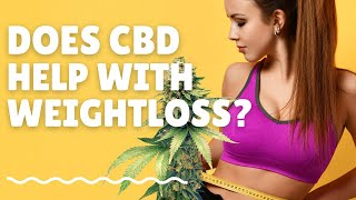 Does CBD oil help with weight loss and appetite? | CBD Weight Loss | CBD Appetite Suppressant?