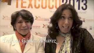 Regina Orozco y Delfina Gómez