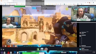 Overwatch live stream Quick Play then VOD review
