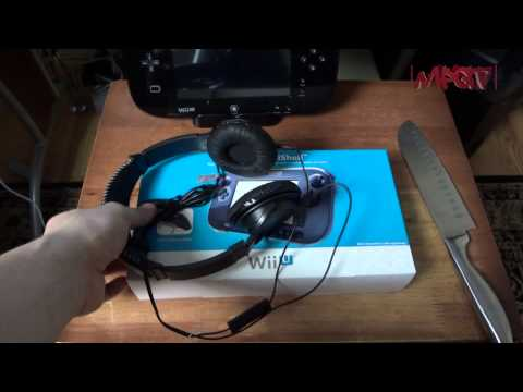 Wii U Accessories Unboxing (RocketFish Wii U Branded Stereo Gaming Headset & InvisiShell) 1080p HD