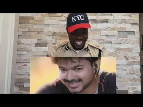 American vijay fan reaction for bhairava teaser