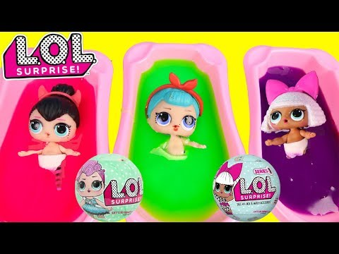 Are You Sleeping LOL Surprise Babies - Learning Colors with LOL Fizz   Ellie Sparkles