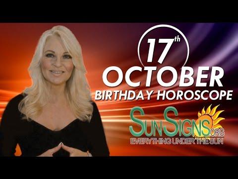 Birthday October 17th Horoscope Personality Zodiac Sign Libra Astrology
