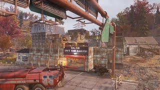 """Fallout 76 - Goodneighbor in Charleston (""""City"""" camp) - by Murphy"""