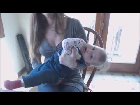 Beautiful Breastfeeding Mom & Baby Girl thumbnail