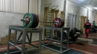 Тренировка с известными легкоатлетами (часть 5)