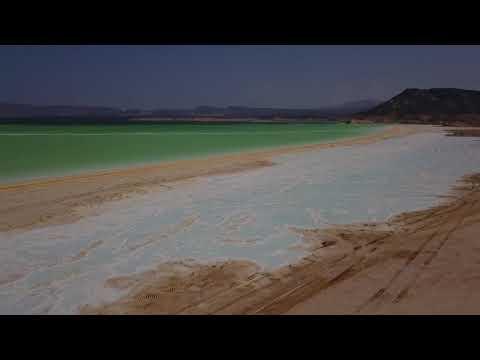 Lake Assal Djibouti Africa