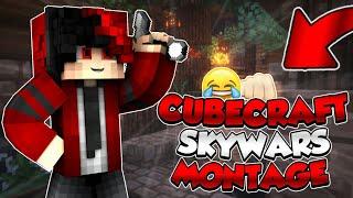 CUBECRAFT SKYWARS MONTAGE - (Minecraft)