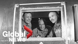Moon landing: Apollo 11 astronaut talks about mission 50 years later