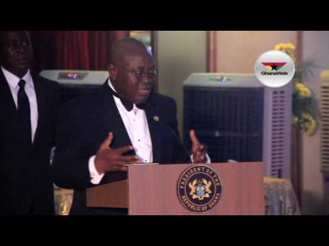 FULL SPEECH: President Akufo-Addo at Ghana Unity ball 2017