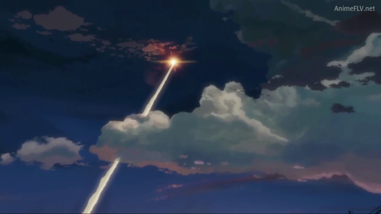 5 Centimeters Per Second Rocket Scene