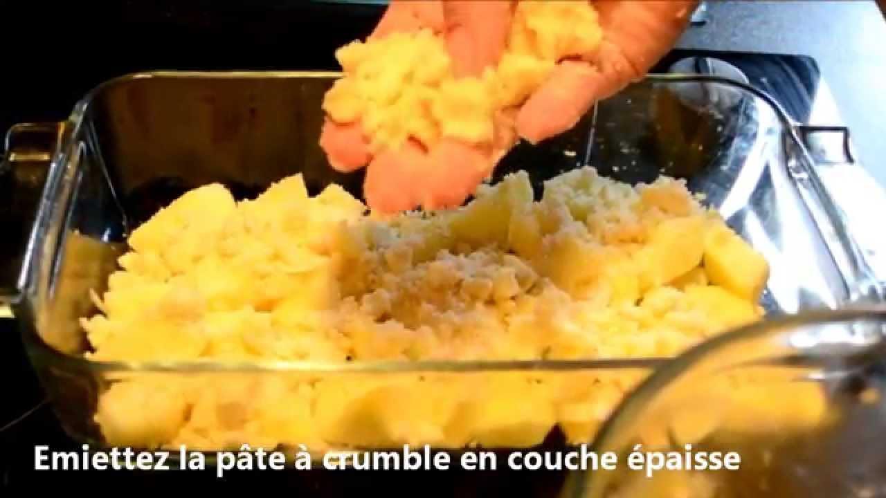 Crumble Aux Pommes Recette Facile Et Rapide Youtube