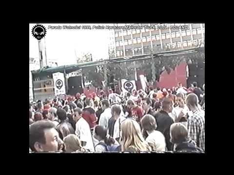 Parada Wolności 1999 - Polish Hardcore Mailorder Truck - Łódź, POLAND - FULL VIDEO
