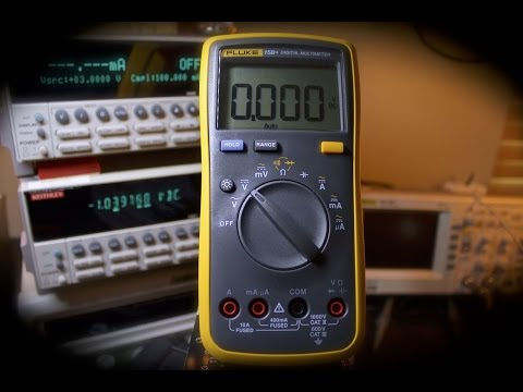 Awesome Inexpensive Fluke 15B+ Multimeter - Testing & Thoughts