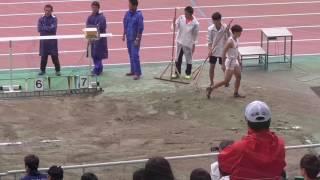 280709静岡県選手権2016年 中村 走幅跳7m52(+0.5) 3位