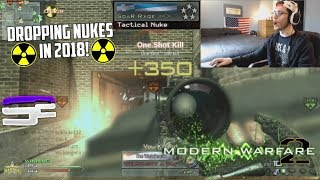 DROPPING NUKES IN 2018! (MW2 PC)