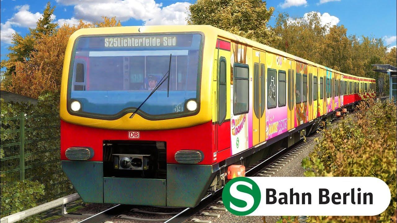 ANTRIEBSSTÖRUNG | S-Bahn Berlin - BR 481 | TRAIN SIMULATOR 2020 | S25 S-Bahn TTB - Train Team Berlin