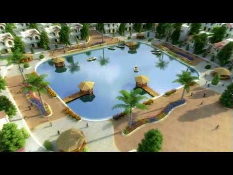 3D Walkthrough Animation - Lake view garden