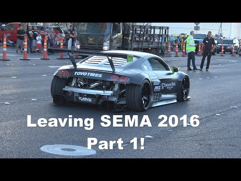 Leaving SEMA 2016 Part 1 of 4