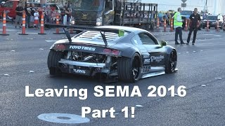 Leaving SEMA Part 1 of 4