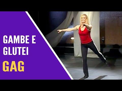 Jill Cooper - Allenamento GAG Gambe e Glutei