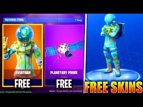 New Free Leviathan Skin Now In Fortnite Fortnite Battle Royale Skins Update Youtube