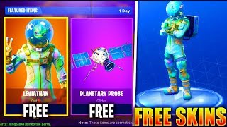 "*NEW* FREE ""LEVIATHAN"" SKIN NOW in Fortnite! - Fortnite Battle Royale Skins Update"