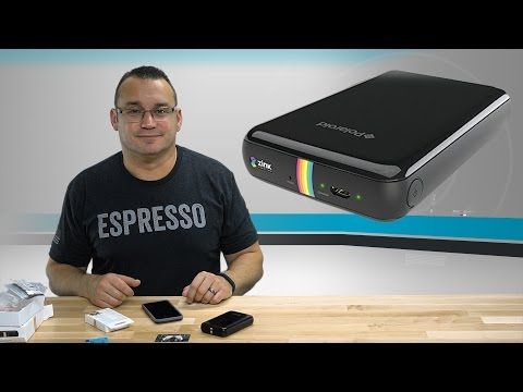Polaroid ZIP Mobile Printer Unboxing & Setup