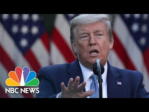 Trump Speaks From White House Amid Coronavirus Crisis | NBC News