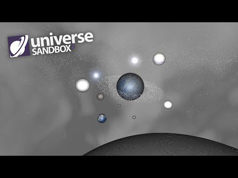 Making A Solar System Out Of White Objects, Universe Sandbox ²