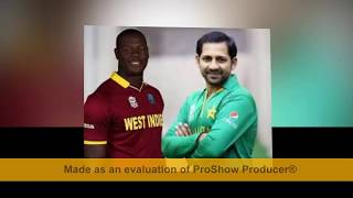 pakistan vs west indies series started from 1st  april to 3rd april