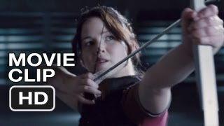 The Hunger Games #5 Movie CLIP - Shooting the Apple (2012) HD Movie