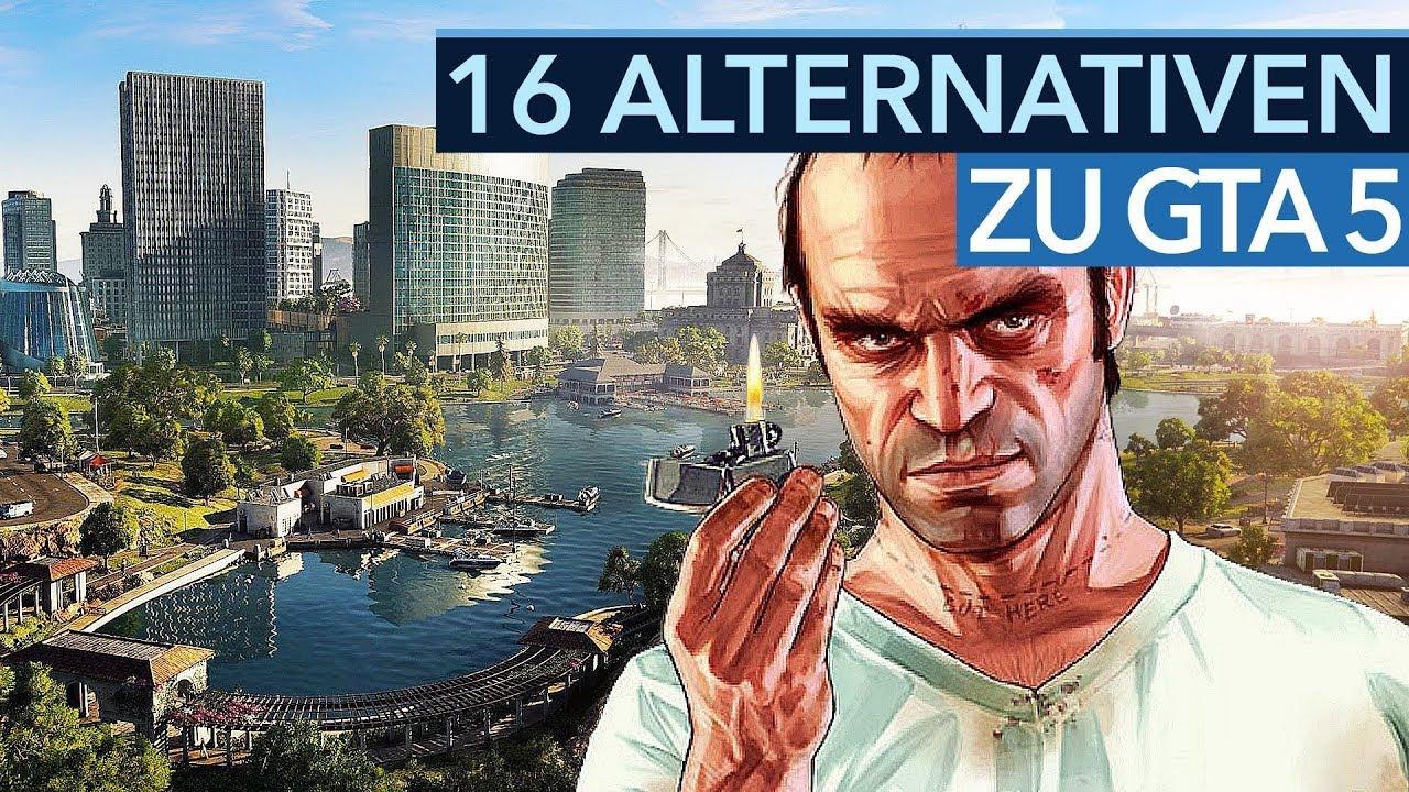 Aktuelle Open-World-Spiele für Fans von GTA 5