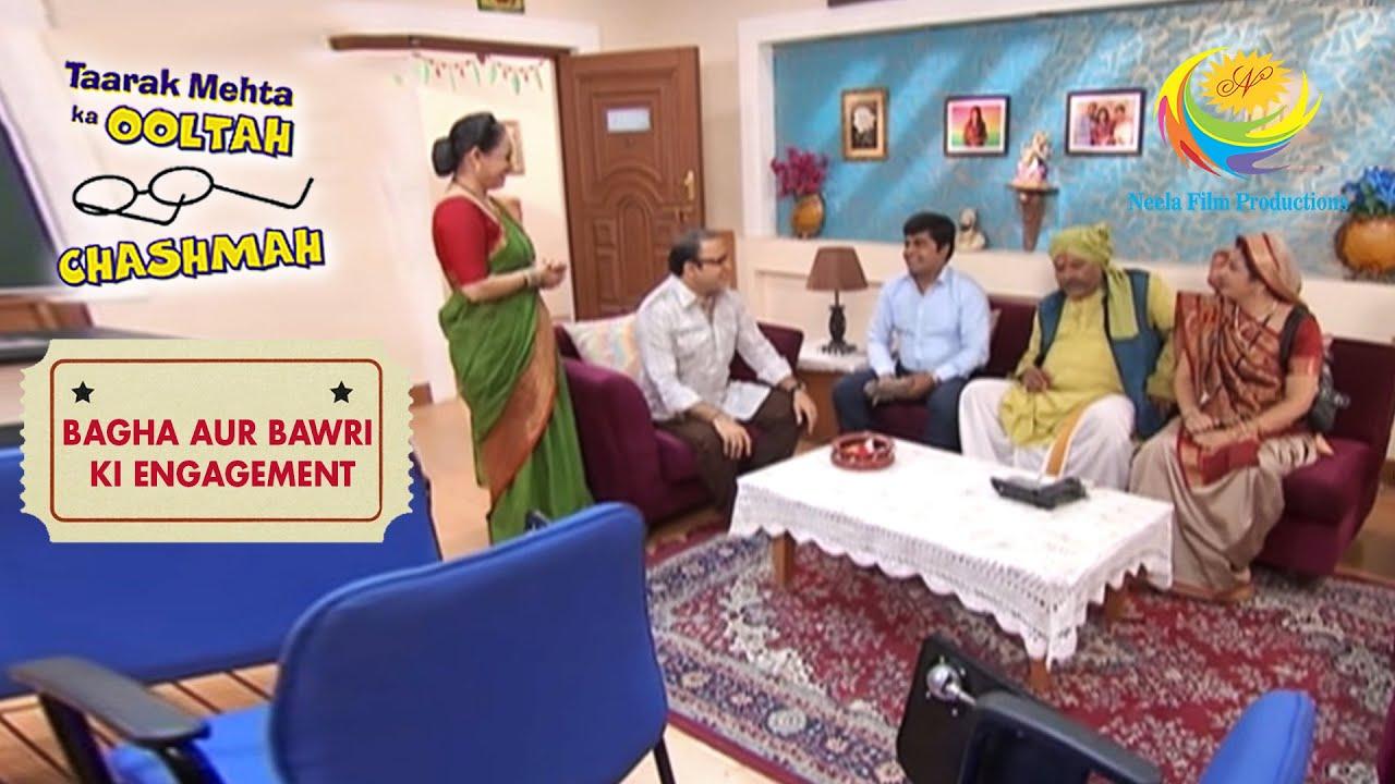 Bawri's Parents Rent A House | Taarak Mehta Ka Ooltah Chashmah | Bagha Aur Bawri Ki Engagement