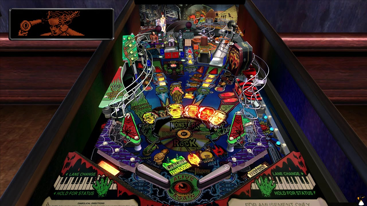 Pinball Arcade : Monster Bash et High Speed sous Steam Play Linux