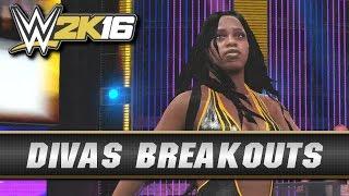 WWE 2K16 Divas Breakouts! (All Divas Entrances)