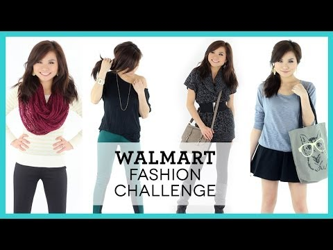 WALMART Fashion Challenge!   Affordable Outfit Ideas   Miss Louie