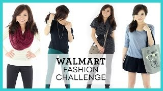 WALMART Fashion Challenge! | Affordable Outfit Ideas | Miss Louie