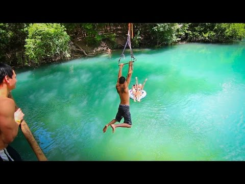 Epic Texas Rope Swings Flips by Tommy Huynh