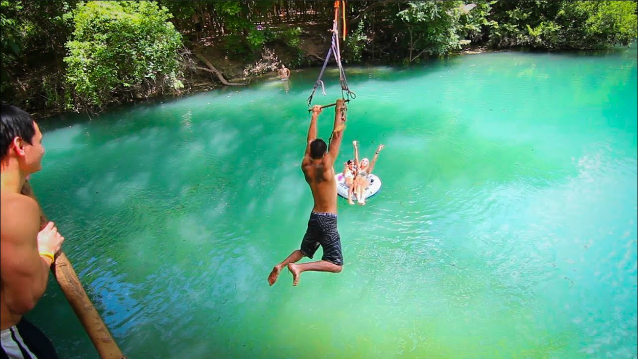 Epic Texas Rope Swings Flips Youtube