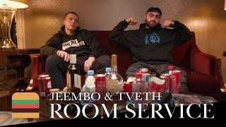 JEEMBO x TVETH — Booking Machine, 6ix9ine и PAINKILLER III | Room Service
