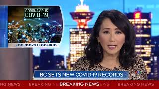 B.C. sets new COVID-19 records, shares modelling