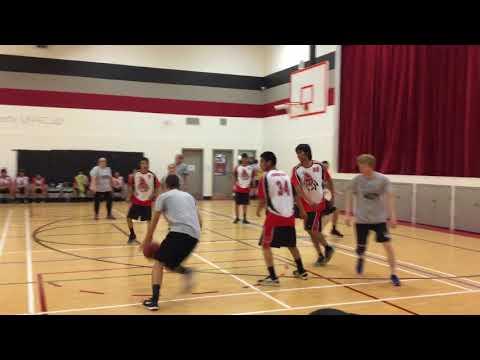 Pik EBS Staff vs High School boys basketball team 2/4
