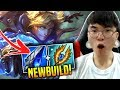 Faker Tries the New Double Tear Ezreal Build!