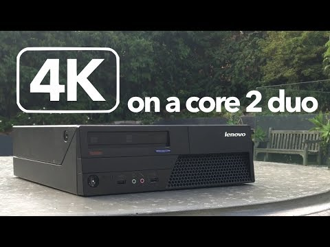 4K Gaming on a Core 2 Duo & GT1030