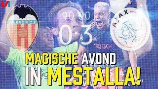 NIET NORMAAL! Ajax Imponerend in Europa: 'Na Madrid, nu Magisch in Mestalla'